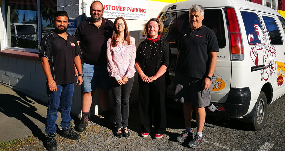 Team Members At Blenheim Appliance Repairs